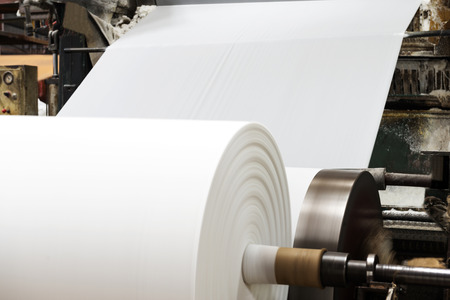 Paper and pulp mill 스톡 콘텐츠