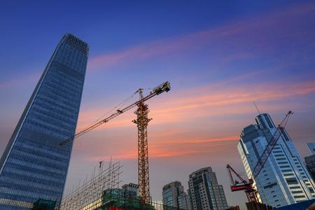 construction site Reklamní fotografie - 35455355