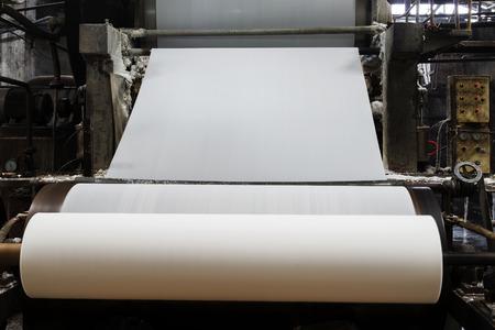 製紙機械 写真素材