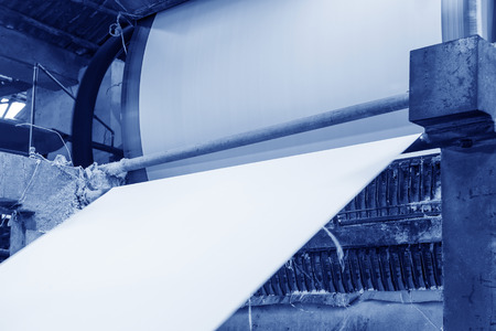 paper plates: Paper mill Machine