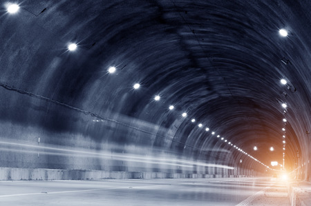 trajectory: Abstract car in the tunnel trajectory