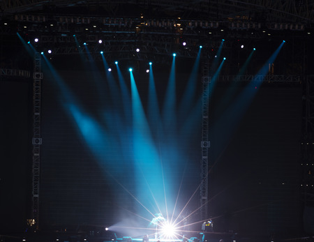 live on air: Stage Spotlight with Laser rays