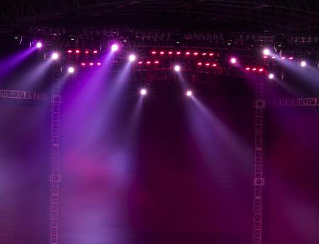 Bühne Spotlight mit Laser-Strahlen