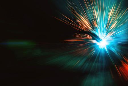 Welding with sparks Standard-Bild