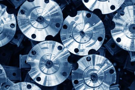 engineered: uniform engineered machine parts