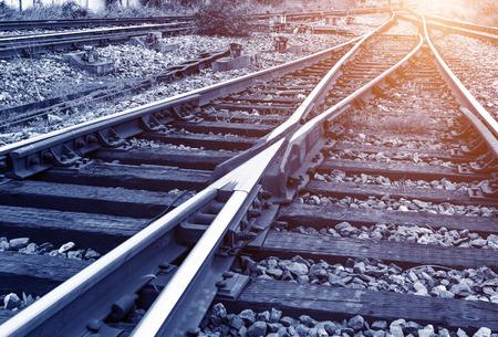 railway points: Railway track