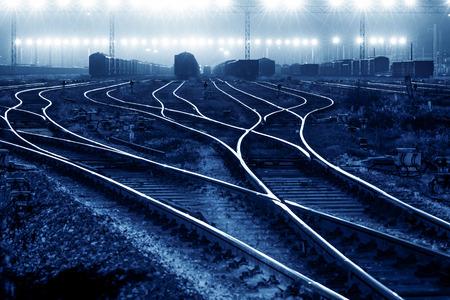 前方方法の鉄道