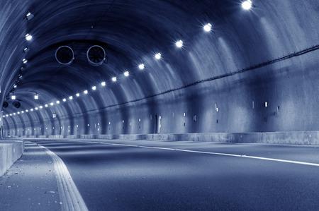 trajectoire: Trajectoire du tunnel Banque d'images