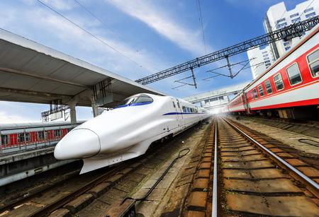 highspeed: high-speed train