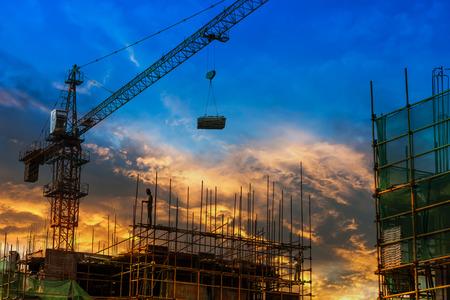 Baustelle Standard-Bild - 36954535