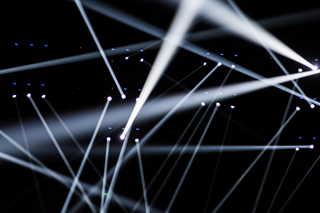club scene: Stage Spotlight with Laser rays
