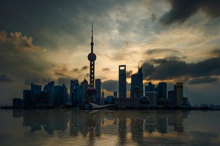 pudong: Shanghai, Pudong skyline