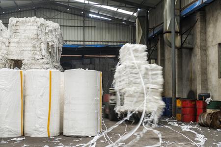 Paper and pulp mill Standard-Bild