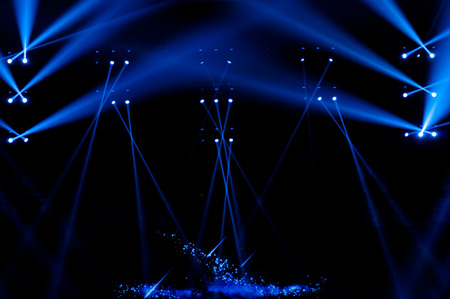 spotlight: Stage Spotlight with Laser rays