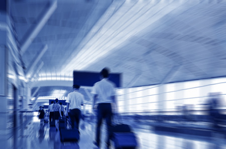 flight crew: A Flight Crew Walking in the Airport