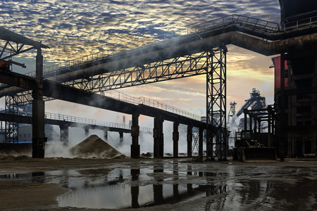 smudgy: Iron and steel industry landscape
