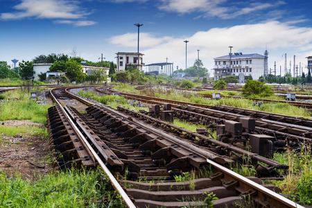 complicated journey:  railway