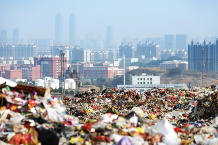 Rubbish dump Banque d'images