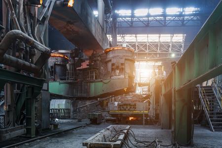 industry: steel industry Stock Photo
