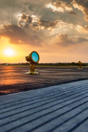 Airport approach landing lights