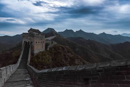Great Wall of China 스톡 콘텐츠