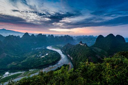 The world's largest yellow waterfall-the Yellow River hukou waterfall.Hukou town, ji county, linfen city, Shanxi Province, China
