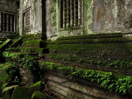 kampuchea: Cambodia wall Stock Photo