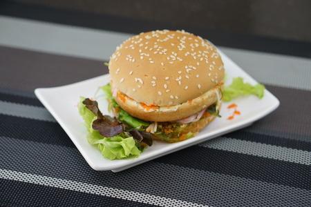 alga: Crab and Alga Burger
