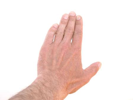 hand gestures: Hand gestures Stock Photo