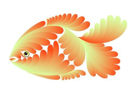 Decorative small fish for use in design Stock Vector - 9308545