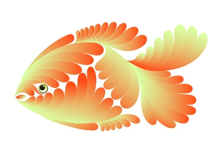 Decorative small fish for use in design Stock Vector - 9308545