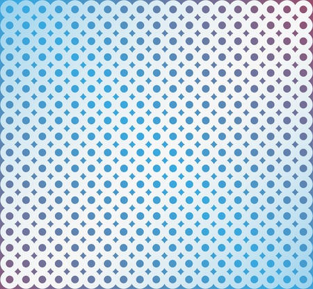 Abstract background  from the combined rings on a blue background Vector