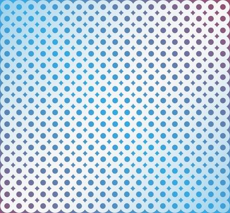 combined: Fondo abstracto de los anillos combinados sobre un fondo azul Vectores