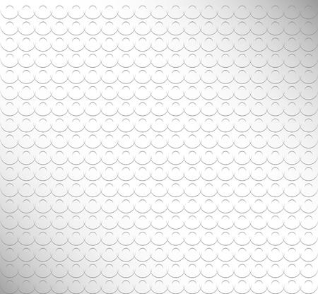 Abstracte achtergrond van halfronde elementen op een grijze achtergrond