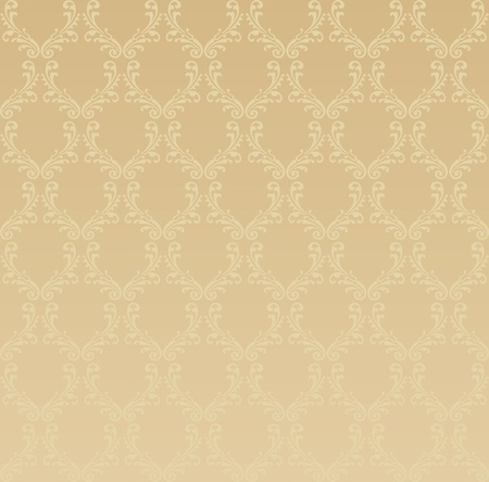 Pattern from decorative elements in a light brown tonality Vector
