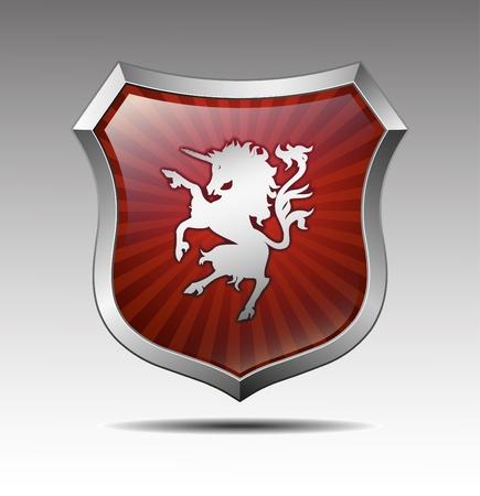 Arms in an unicorn  Ilustração