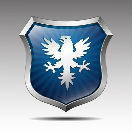 Arms in an eagle