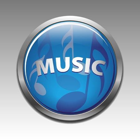 Musical symbols icon Stock Vector - 9677109