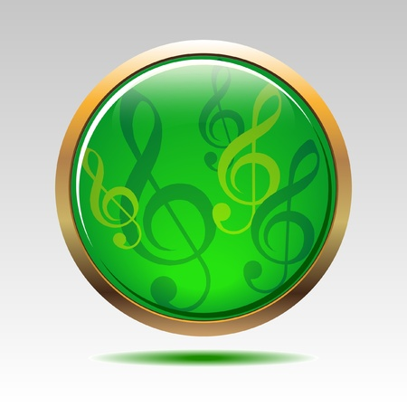 Musical symbols icon Stock Vector - 9677108