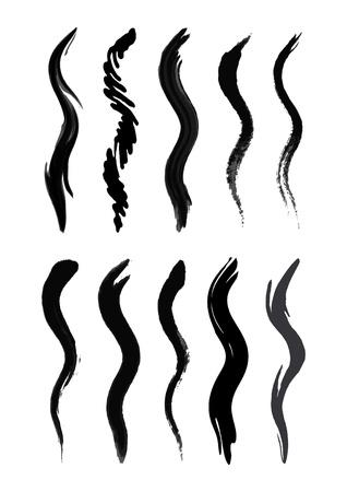 Brush-blot vector on white background Stock Vector - 10180395