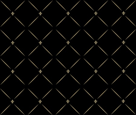 Abstract background in the form of a pattern from decorative elements Illustration