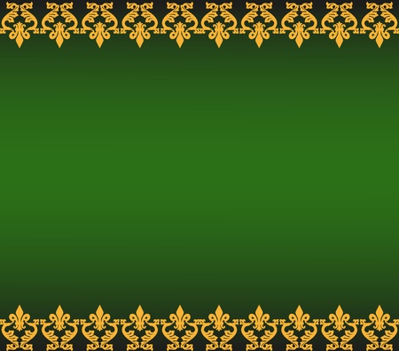 Abstract background in the form of a pattern from decorative elements Vector