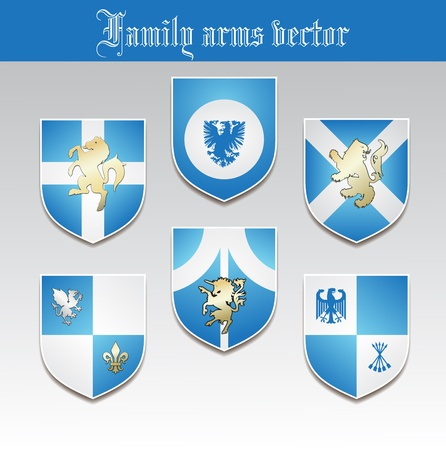 olden: Family arms  Illustration