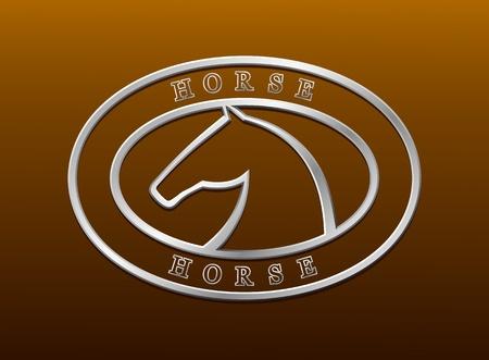 racehorse: Horse symbol vector