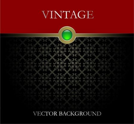 elegante: Vettore sfondo Vintage Vettoriali