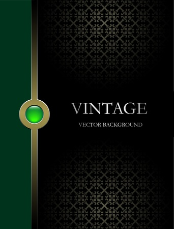 fondo elegante: Fondo vector vintage