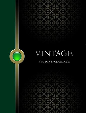 eleg�ncia: Vector background Vintage Ilustra��o