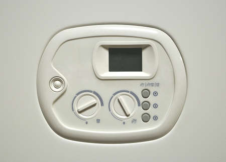Control panel gas water heater photo