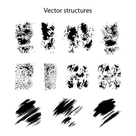 ink splat: structures for design Illustration