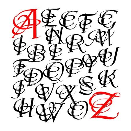 Calligraphic letters vector design royalty free cliparts vectors calligraphic letters vector design stock vector 12496737 altavistaventures Images